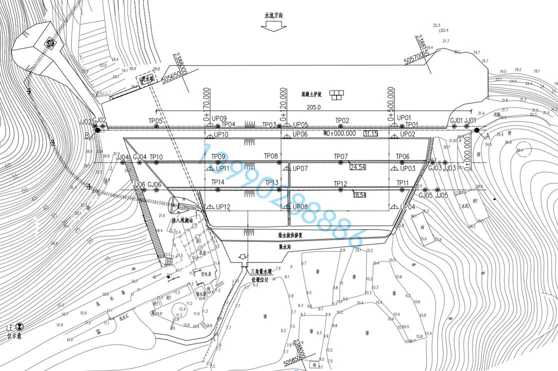 小型水库大坝安全监测设施建设项目实施方案编制目录参考