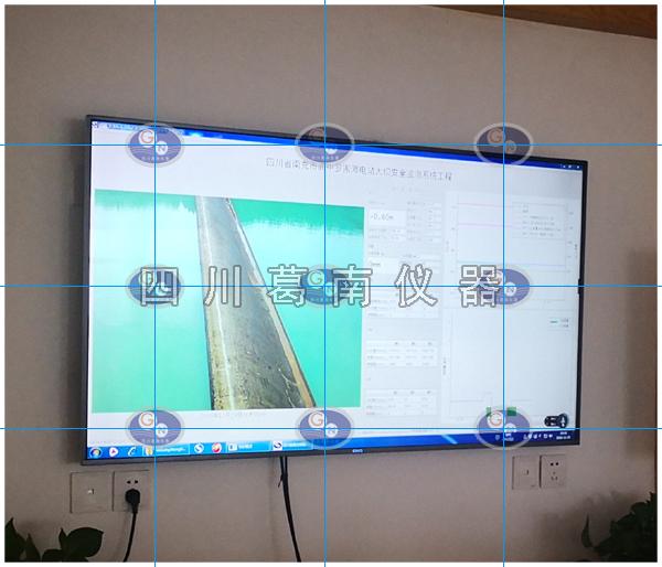 南充市阆中罗家滩水电站大坝安全监测预警系统LED屏实时显示系统建设