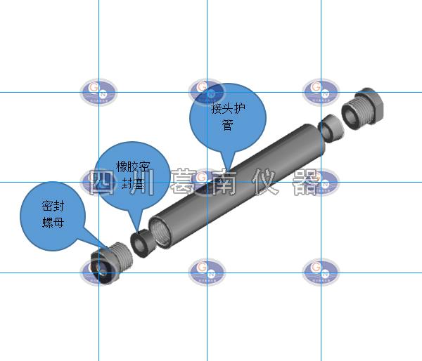水工屏蔽电缆延伸接头