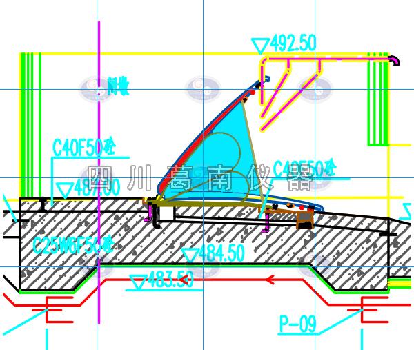 水闸渗流监测布置参考