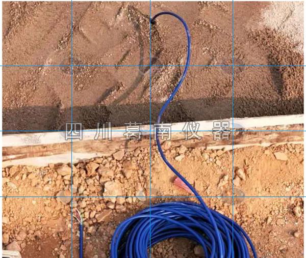 水闸渗压计和土压力计安装