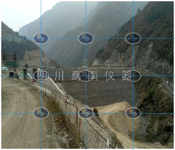 青川曲河水库大坝安全监测仪器埋设及安装