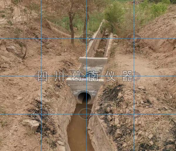非满管应用于放水洞和放水渠流量监测
