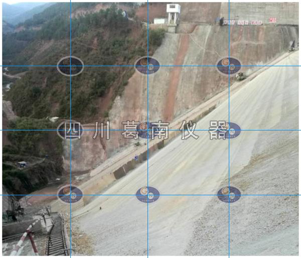 云南大理永平县玉皇阁水库大坝安全监测仪器埋设及安装