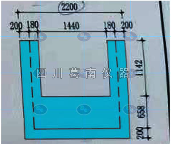 2200-2000梯形堰板